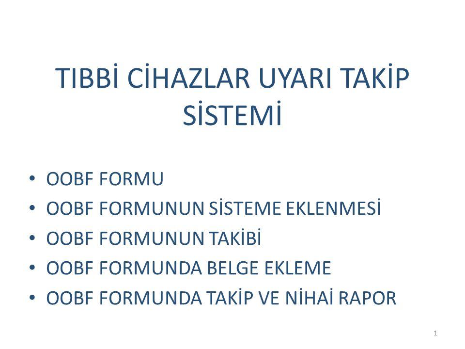 22 Düzeltici faaliyetlere ilişkin belgeler tamamlandıkça sisteme eklenebilmektedir.
