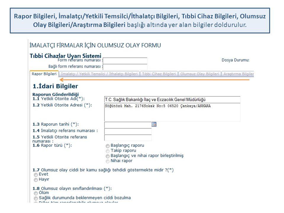 30 TAKİP RAPOR'UNA ilişkin RAPOR VE TAAHÜTNAME çıktısı firma yetkilisi tarafından imzalanıp ve kaşelendikten sonra OOBF Formu Dilekçesi ile birlikte Genel Müdürlüğümüze posta yoluyla gönderilir.