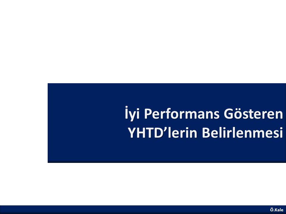 İyi Performans Gösteren YHTD'lerin Belirlenmesi Ö.Kale