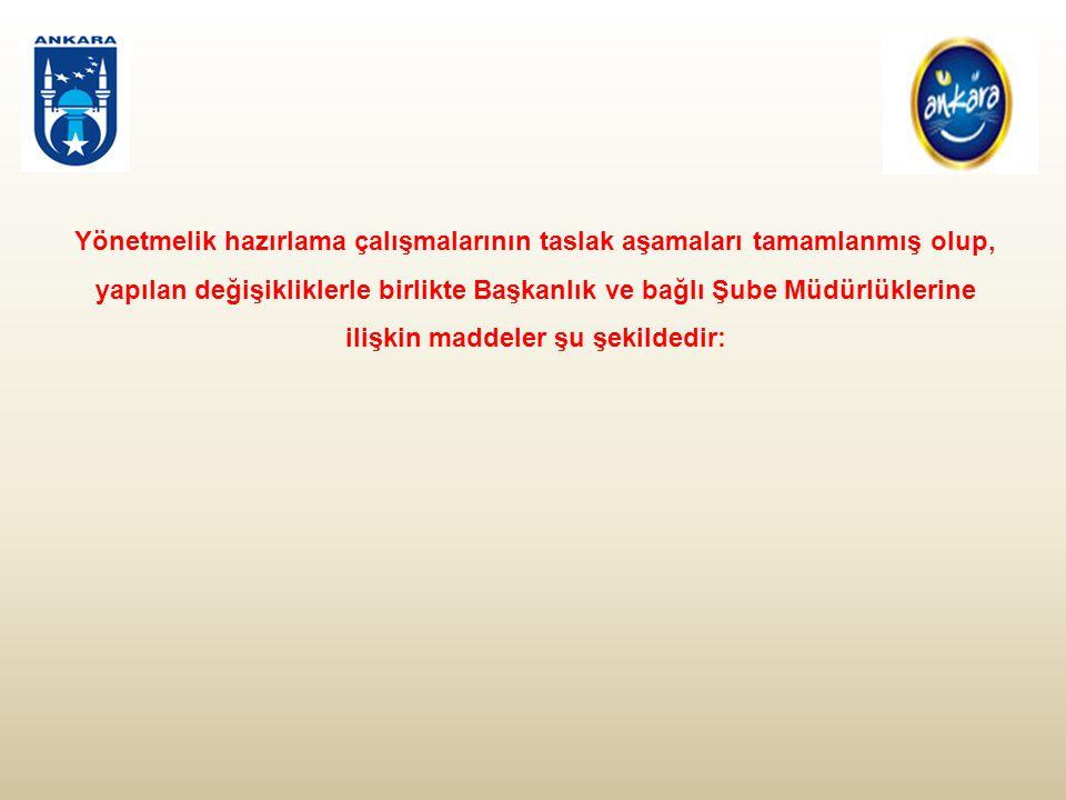 (4) Vakıflar Şube Müdürlüğüne bağlı olarak görev yapan İzleme ve Değerlendirme Şefliğinin görev, yetki ve sorumlulukları şunlardır: a)Ankara Büyükşehir Belediyesi sınırları içerisinde faaliyet gösteren Vakıfların veri altyapısının oluşturulması, b) Vakıflardan gelen başvuruları değerlendirip diğer ilgili birimlerle koordinasyonunu sağlamak, c) Şube Müdürlüğü tarafından yapılan eğitim konferans seminer panel ve benzeri katılımlar sonrası hazırlanacak olan raporları dosyalamak.