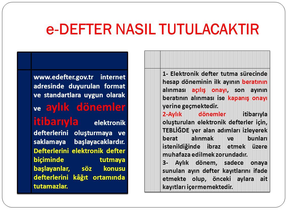 1)Gerçek kişi mükellefler için 5070 Sayılı Elektronik İmza Kanunu hükümleri çerçevesinde üretilen nitelikli elektronik sertifikaya sahip olunması, 2)T