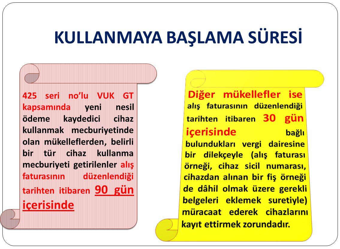 SABİT ÖKC'LER 1/1/2014 tarihinden itibaren Mükellefler, 3100 sayılı Katma Değer Vergisi Mükelleflerinin Ödeme Kaydedici Cihazları Kullanmaları Mecburi