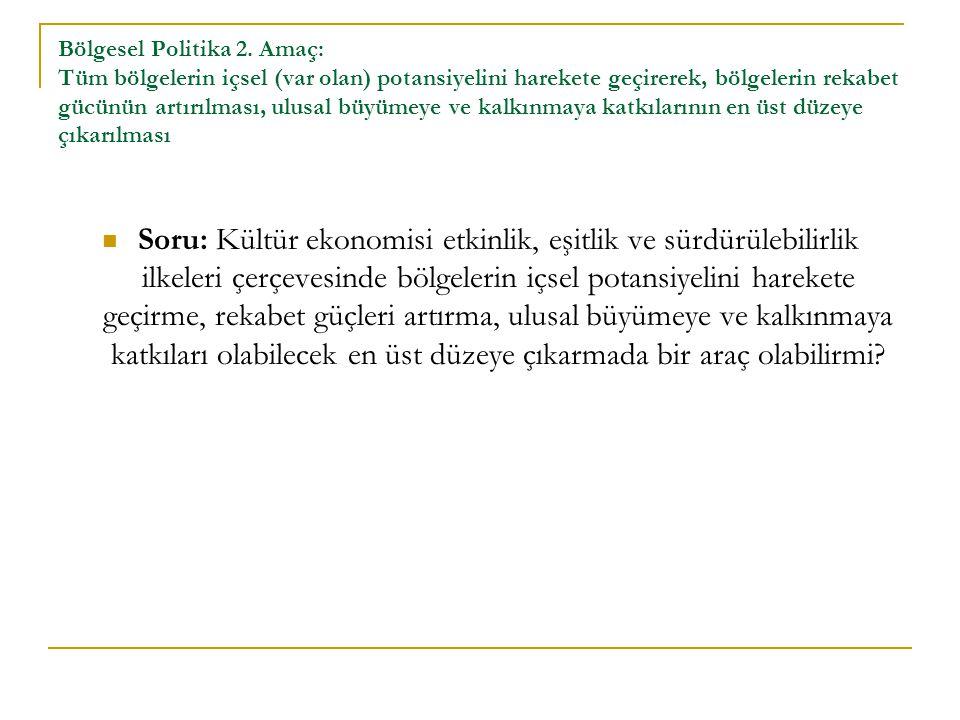 Bölgesel Politika 2.