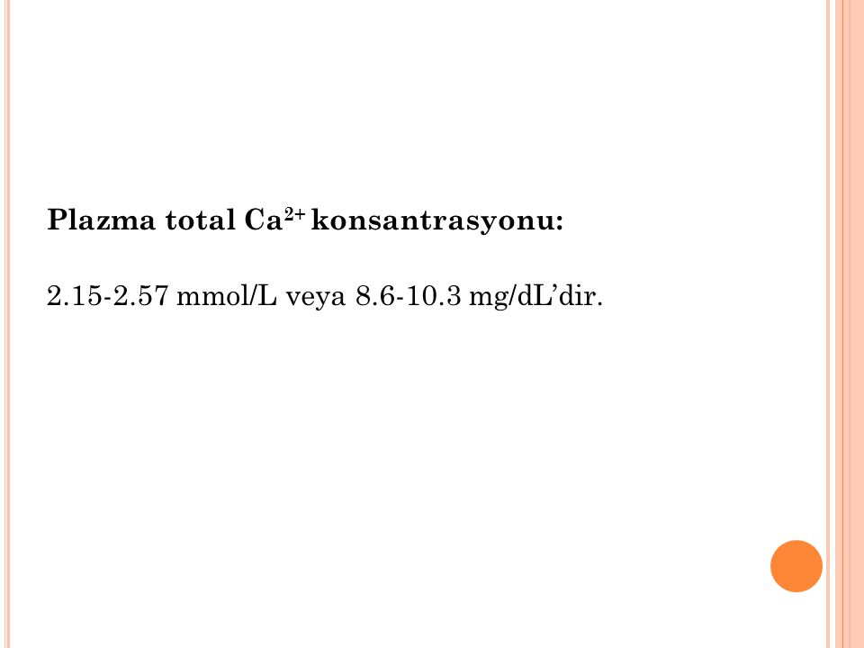 Serum magnezyum düzeyinin normal değeri 1,7-3,0 mg/dL