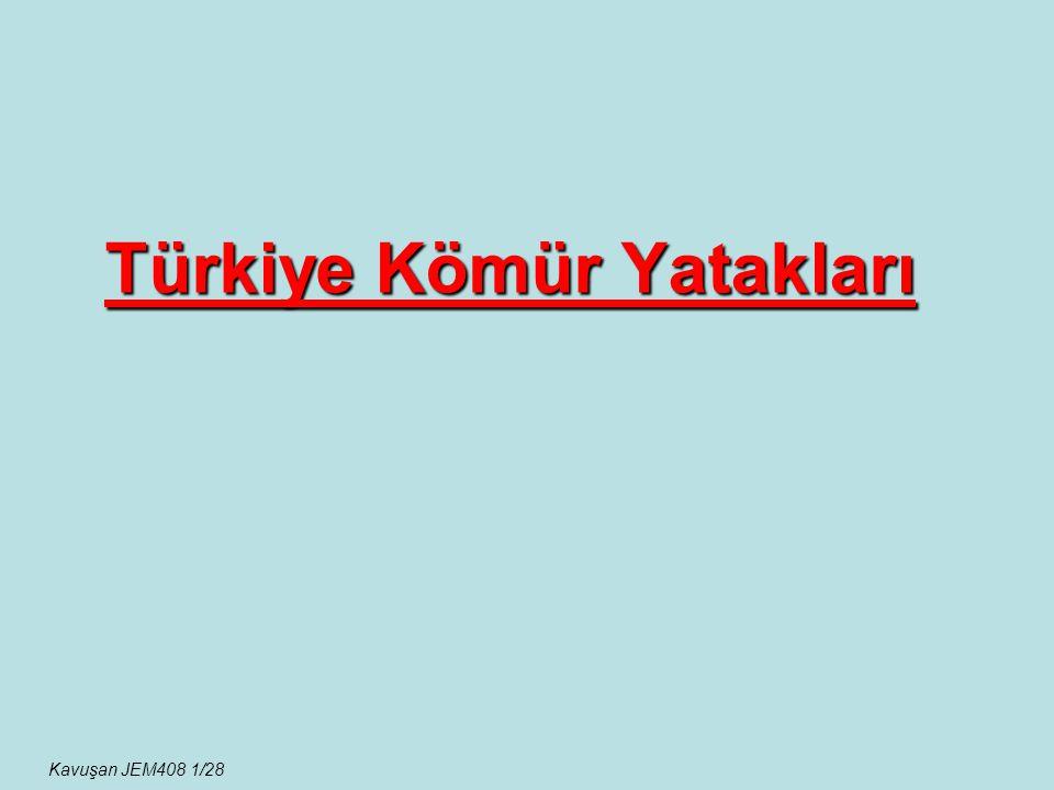 Türkiye Kömür Yatakları Kavuşan JEM408 1/28