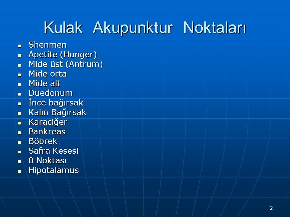 23 Vücut Akupunktur Noktaları GB 34 Bacak lateral yüzde, kaput fibulanın ventral ve kaudalinde yer alır