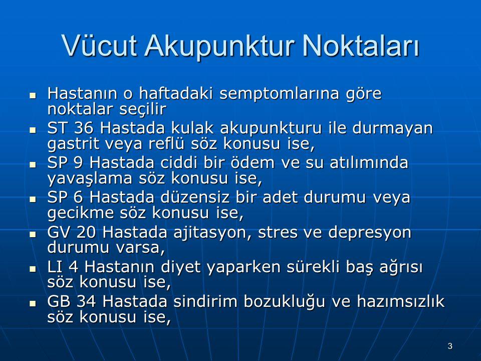 4 Kulak Akupunktur Noktaları Shenmen 4Dr. Murat TOPOĞLU