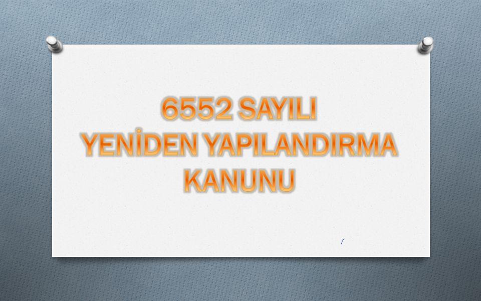  6552 sayılı Kanunun 26 ncı maddesiyle Katma Değer Vergisi Kanununun 17 nci maddesinin dördüncü fıkrasının (g) bendi değiştirilmektedir.