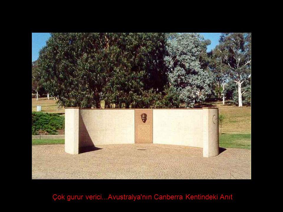 Çok gurur verici...Avustralya'nın Canberra Kentindeki Anıt