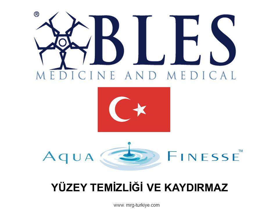 www. mrg-turkiye.com YÜZEY TEMİZLİĞİ VE KAYDIRMAZ