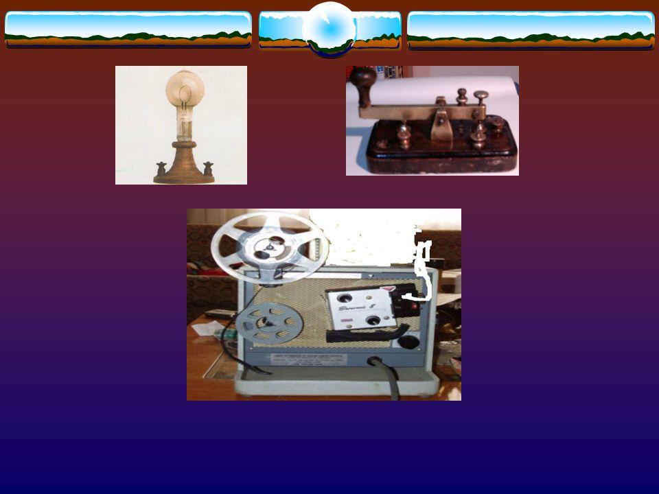 THOMAS ALVA EDİSON (1847-1931) Amerikalı buluşçu. Elektrik ampulü,gramafon, batarya, film gösterme aygıtı vb. bini aşkın icadı vardır. Öldüğünde gözle