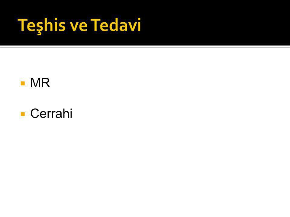  MR  Cerrahi