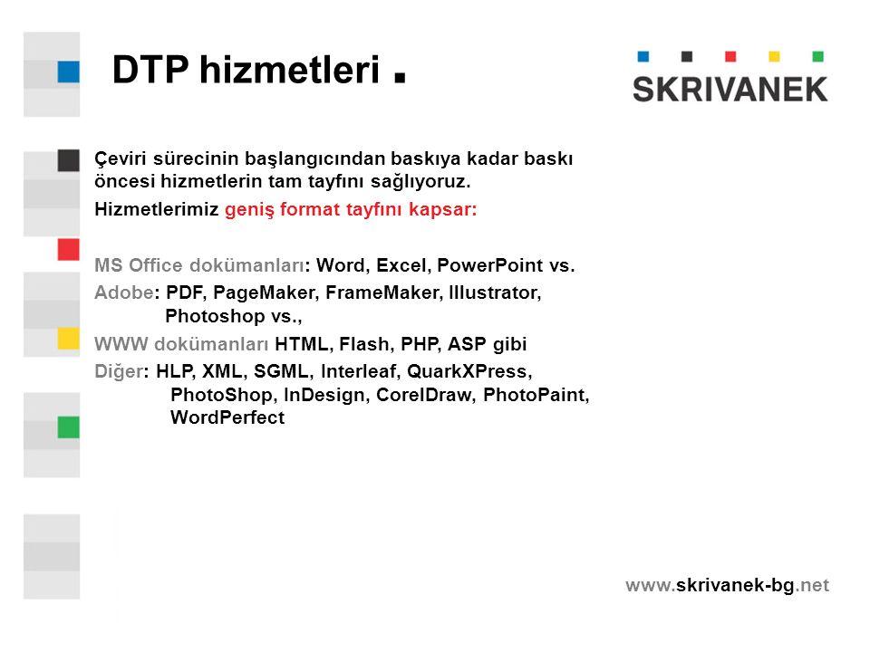 www.skrivanek-bg.net DTP hizmetleri.