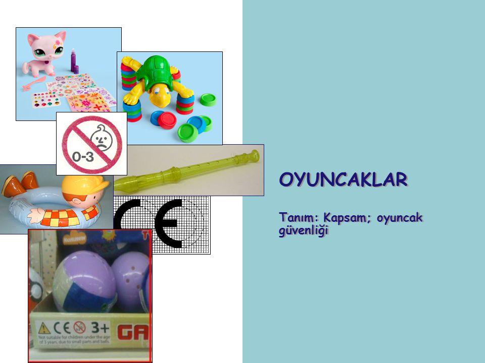 23 Avrupa Ürün Güvenliği Kurumu (VWA) deneyimlerine göre oyuncaklarda ilk beş'e giren muhtemel tehlikeler; Boğulma, asfiksasyon Toksik ya da kanserojen maddeler Mıknatısların yutulması Strangülasyon İşitme kaybı Oyuncaklardaki tehlikeler