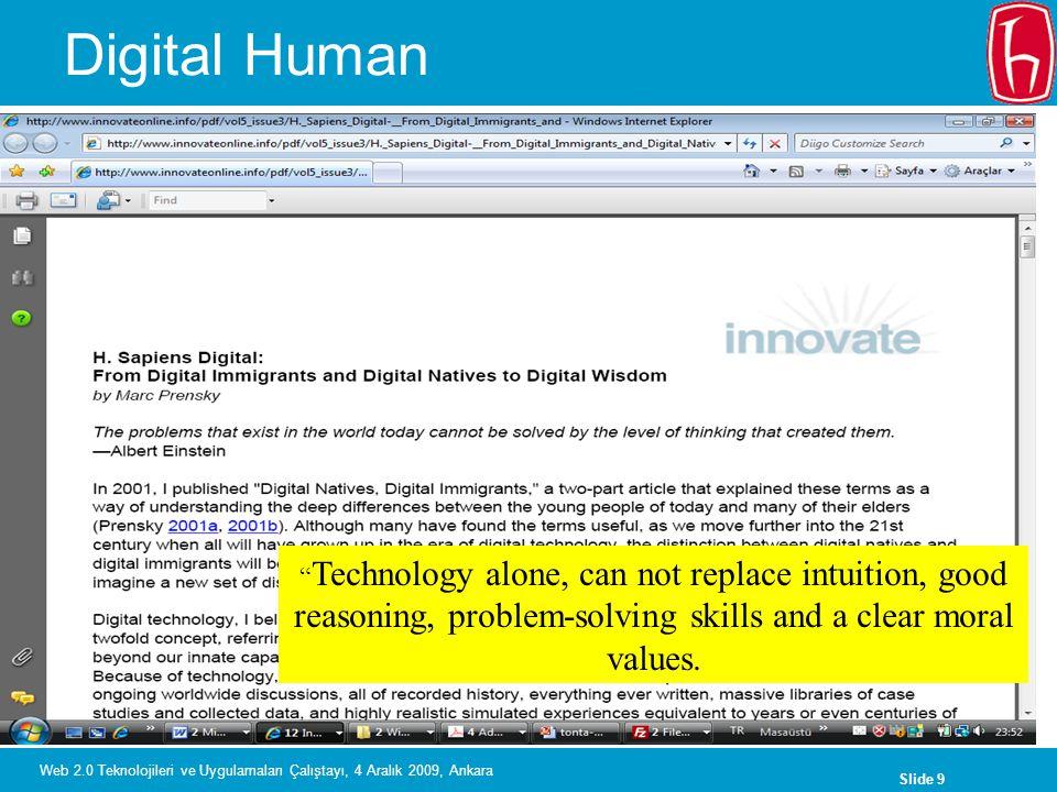 Slide 30 Web 2.0 Teknolojileri ve Uygulamaları Çalıştayı, 4 Aralık 2009, Ankara Text a Librarian