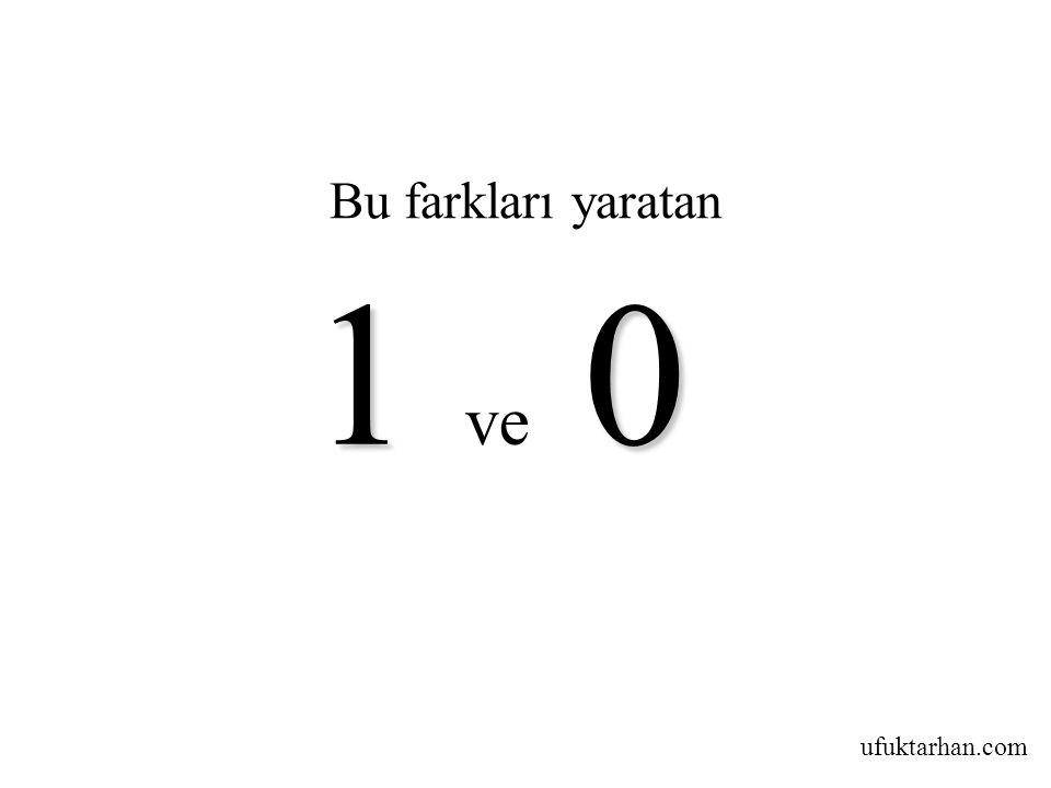 ufuktarhan.com Bu farkları yaratan 10 1 ve 0