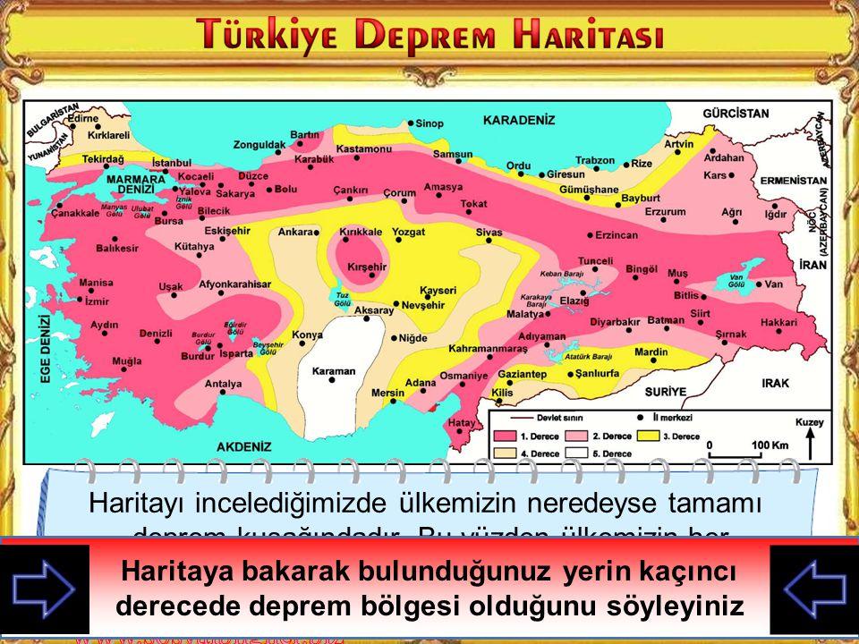 A) Sel B) Erozyon C) Heyelan D) Deprem DPY 2011 Mert'in yaşadığı yerde aşağıdaki doğal afetlerden hangisi görülür?