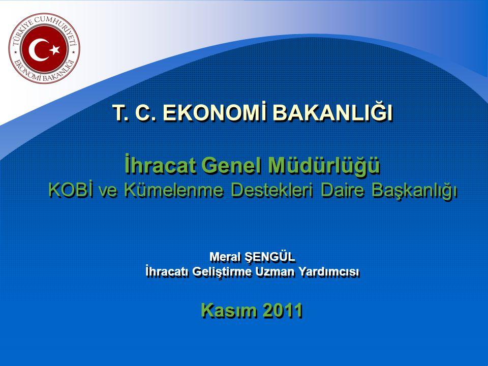 2011/1 Sayılı Pazar Araştırması ve Pazara Giriş Desteği 2010/8 Sayılı Uluslar arası Rekabetçiliğin Geliştirilmesi Desteği 97/5 Sayılı Çevre Maliyetleri Desteği 2000/1 Sayılı İstihdam Desteği 2011/1 Sayılı Pazar Araştırması ve Pazara Giriş Desteği 2010/8 Sayılı Uluslar arası Rekabetçiliğin Geliştirilmesi Desteği 97/5 Sayılı Çevre Maliyetleri Desteği 2000/1 Sayılı İstihdam Desteği