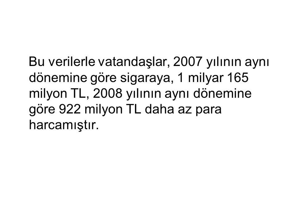 Aynı dönemde Türkiyenin GSYİH % 3.3 oranında düşerken, restoran ve kahvehanelerin içinde bulunduğu ikram sektöründe % 5.2'lik bir gelir artışı olmuştur.