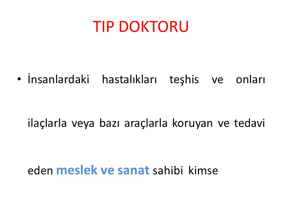 Gaziantep ve Tıp M.S.