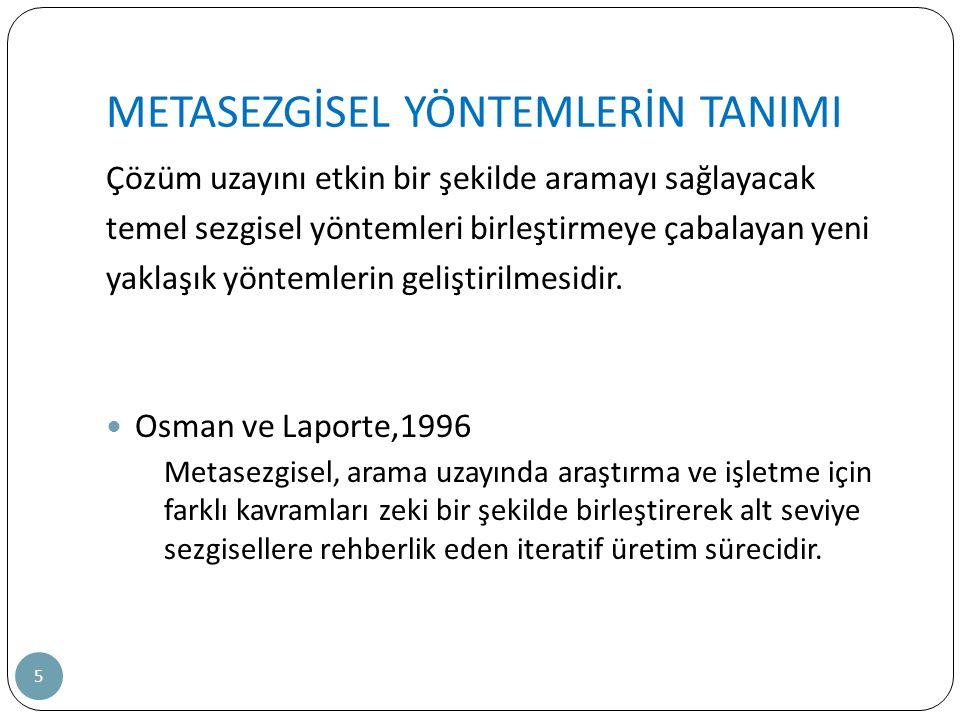 META SEZGİSEL YÖNTEMLER (Devam) 26 4.