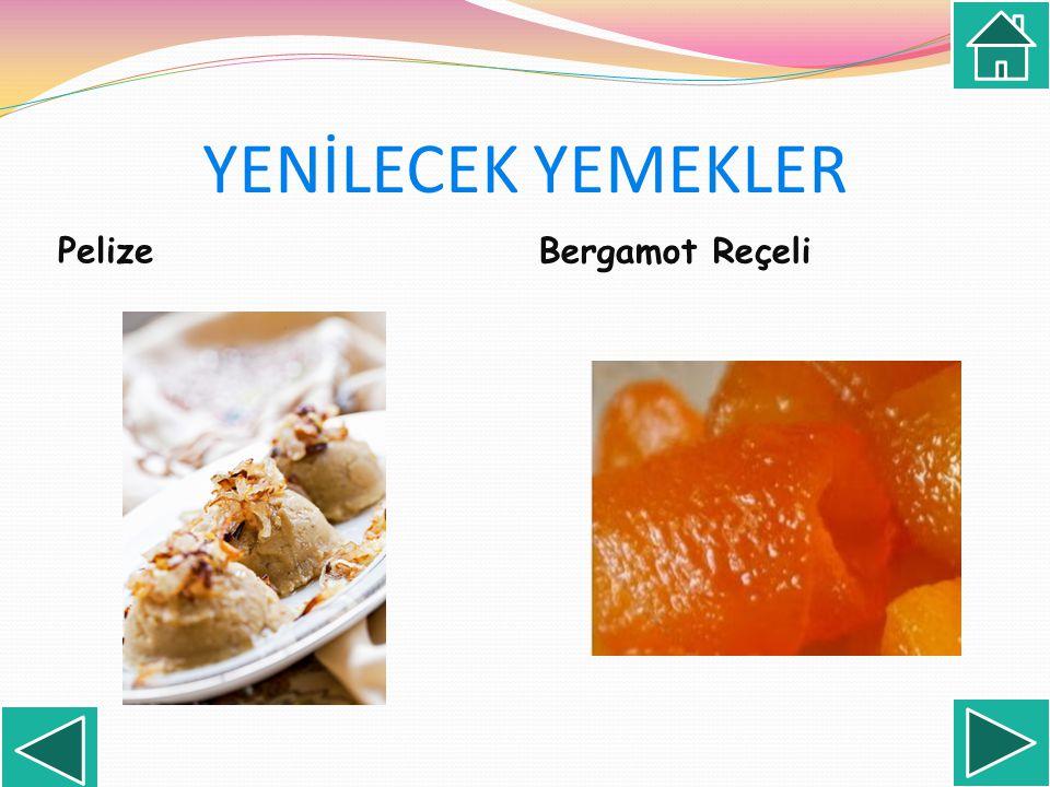 Pelize Bergamot Reçeli