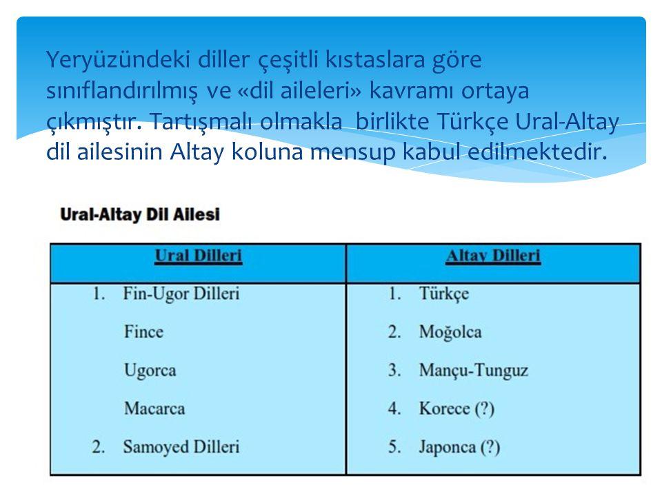 Ural-Altay Dillerinin Altay kolunu oluşturan dillerin aynı ortak kökten geldiğine inanan, bunu ispat etmeye çalışan teoriye Altay dilleri teorisi denir.