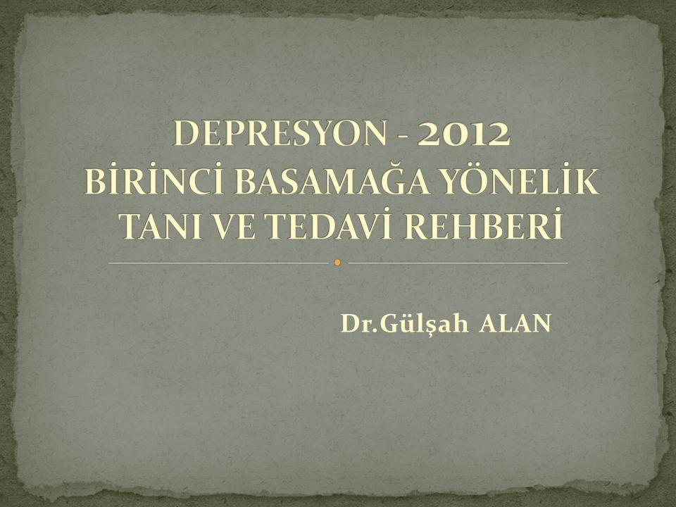 4) Antidepresan kullanma öyküsü bulunmayanlarda hangi ilacın kullanılacağına yan etkiler düşünülerek karar verilmelidir.