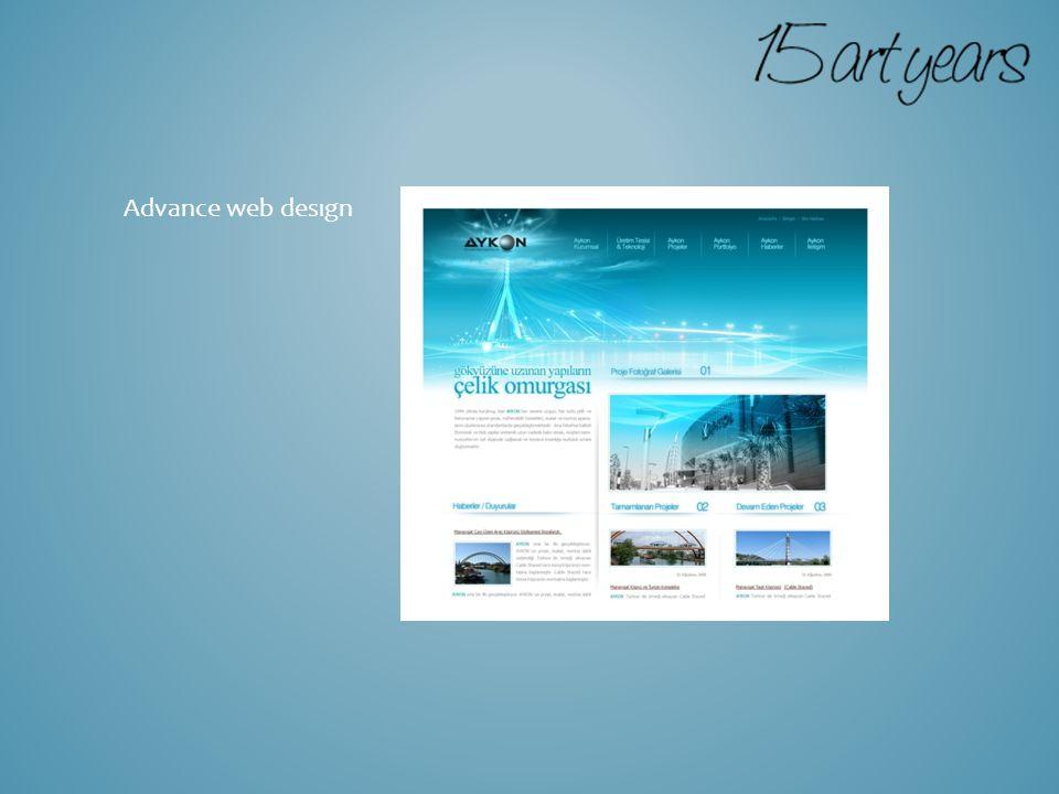 Advance web desıgn