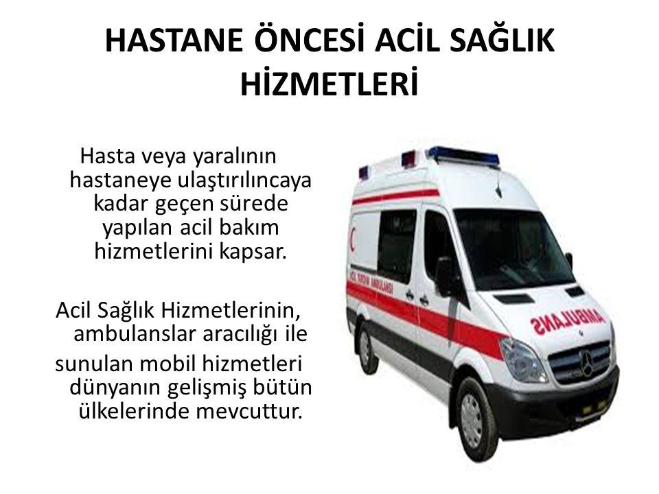 Konya İl Ambulans Servisi İl merkezinde 5'i A1 tipi olmak üzere 23 adet İlçelerde 36 adet olmak üzere Toplam 59 Acil Yardım İstasyonu ile hizmet vermektedir.