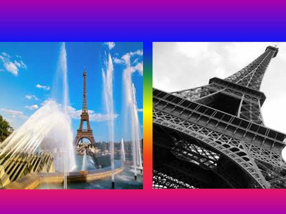 EYFEL KULESİ Eyfel kulesi Paris'in sembolüdür. Bu yüzden çok önemlidir.Çok büyük ve uzundur. Büyük bir özenle yapılmıştır.Tam 12.000 demirden oluşur.