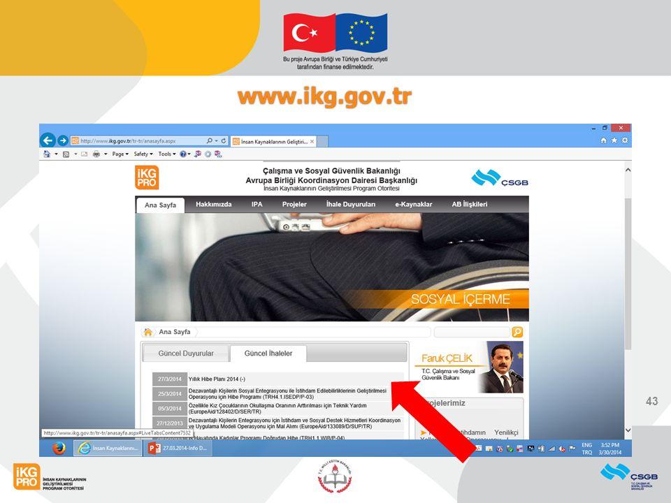www.ikg.gov.tr 43