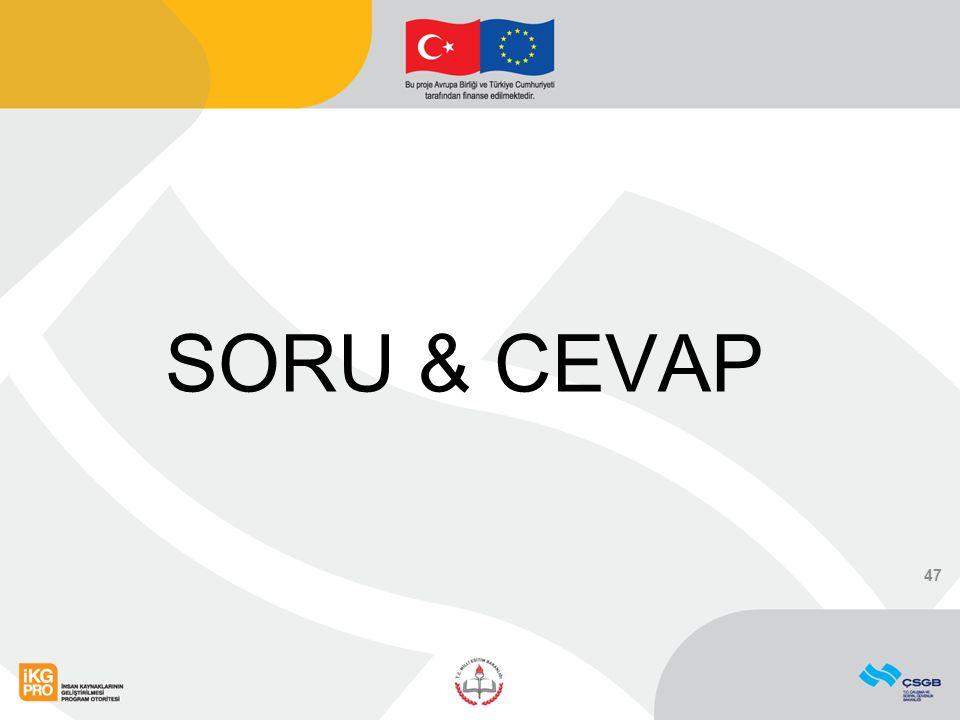 SORU & CEVAP 47