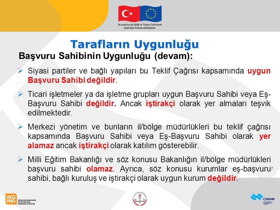 Proje Ön Teklifinin Değerlendirilmesi ÖNEMLİ!!.