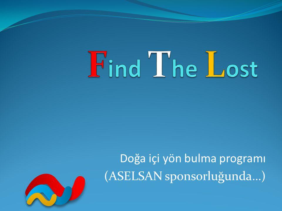 Doğa içi yön bulma programı (ASELSAN sponsorluğunda…)