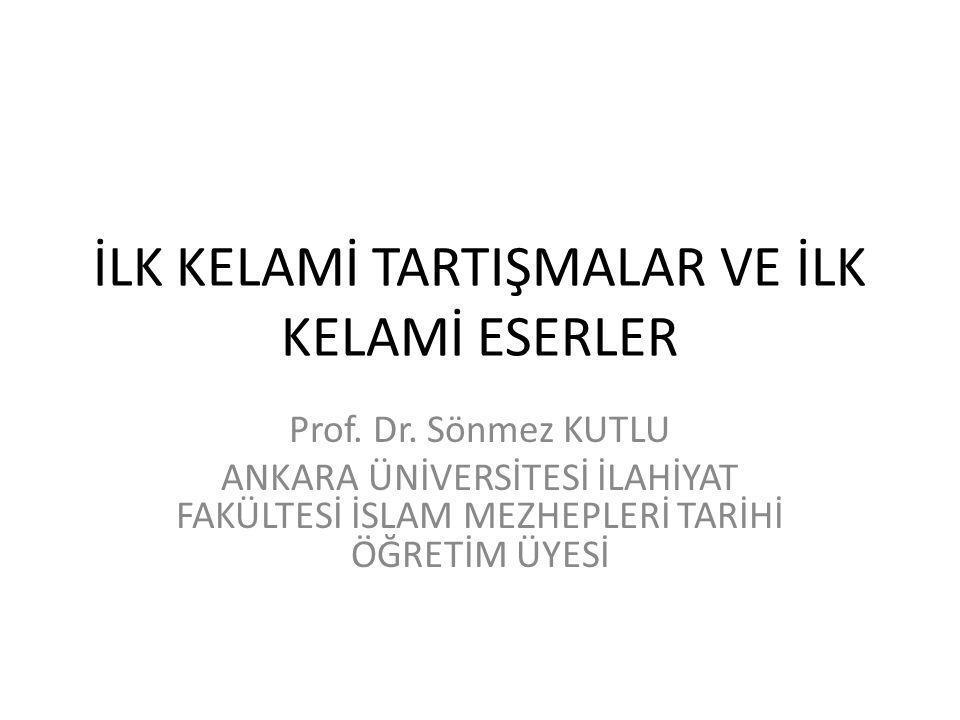 Ömer en-Nesefi, Akaid İslâm İnanç Esasları El Kitabı, ed.