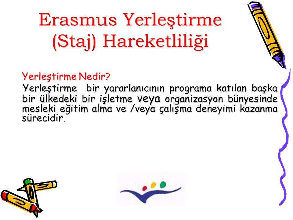 YARARLI BİLGİLER Erasmus hibesi destek niteliğindedir.