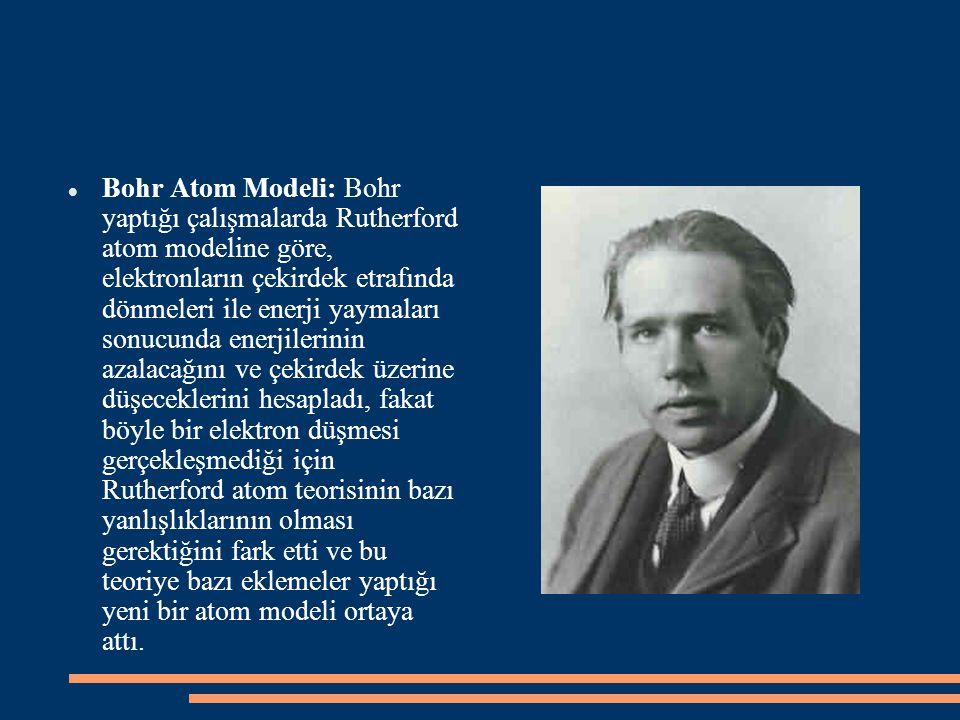 1924 yılında Fransız Louis de BROGLİE, maddenin ışık gibi hem dalga hem de parçacık özelliği gösterdiğini ileri sürdü.