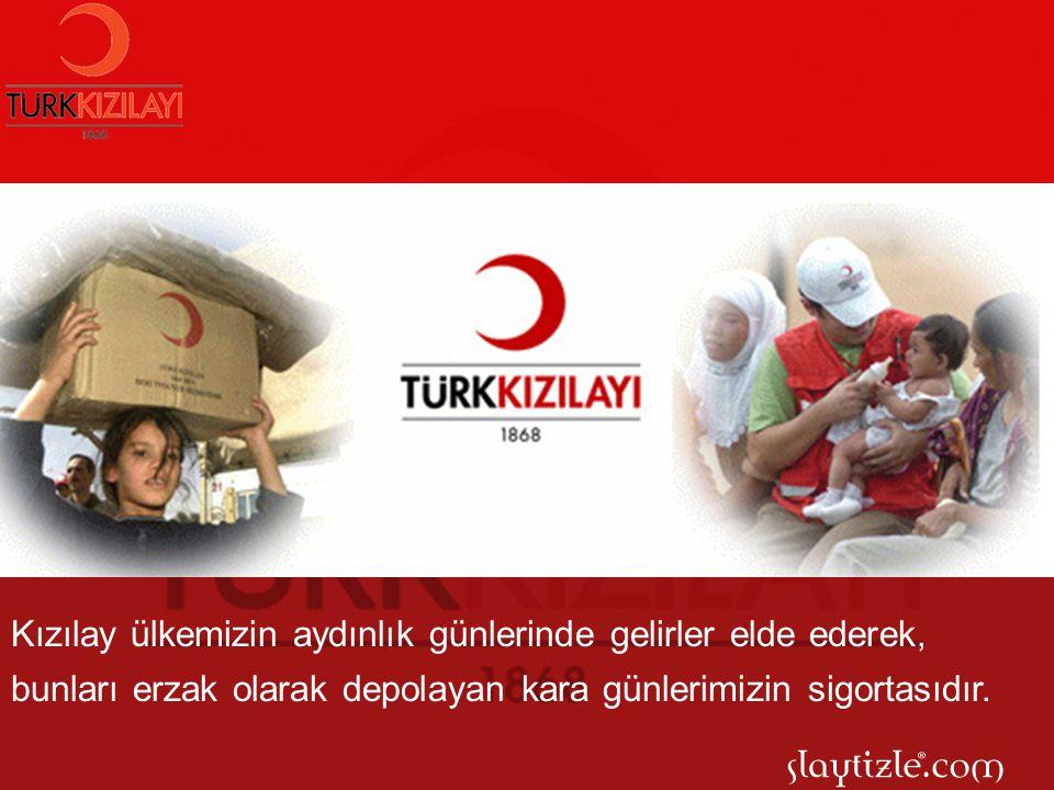 Günümüze kadar uzanan geçmişi ile, her geçen gün daha da güçlü bir alt yapıya sahip olan Kızılay, bugün pek çok ülkeye insani yardım yapmaktadır.