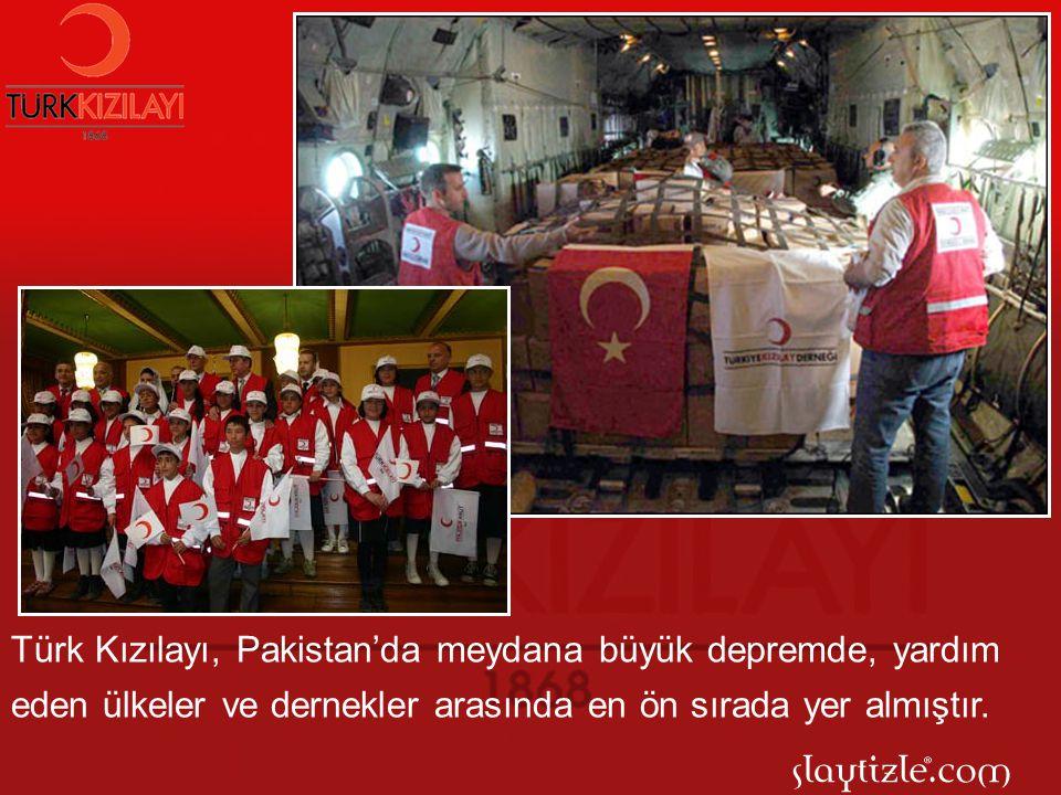 Aynı zamanda uluslar arası örgütlerle ortak çalışan Kızılay, bir çok yoksul ülkeye insani yardım göndermektedir.