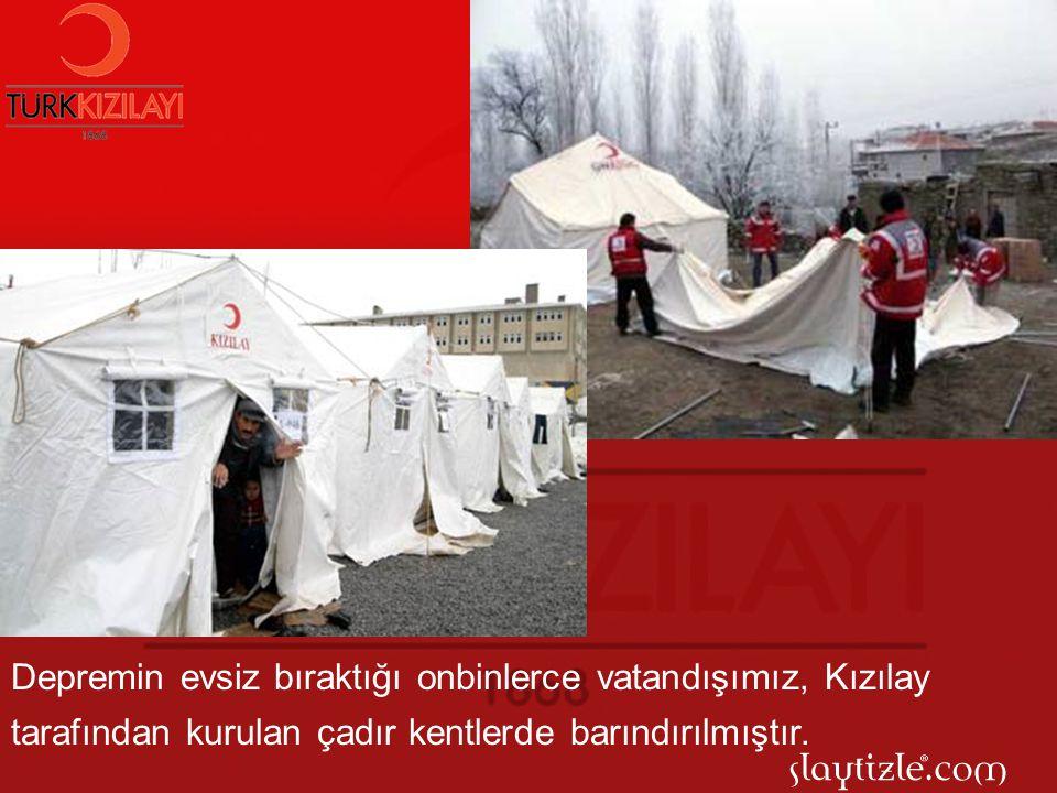 Ülkemizin yaşadığı en büyük depremlerden olan 17 Ağustos Marmara Depremi, Kızılay'ın üstün çabasına sahne olmuştur.
