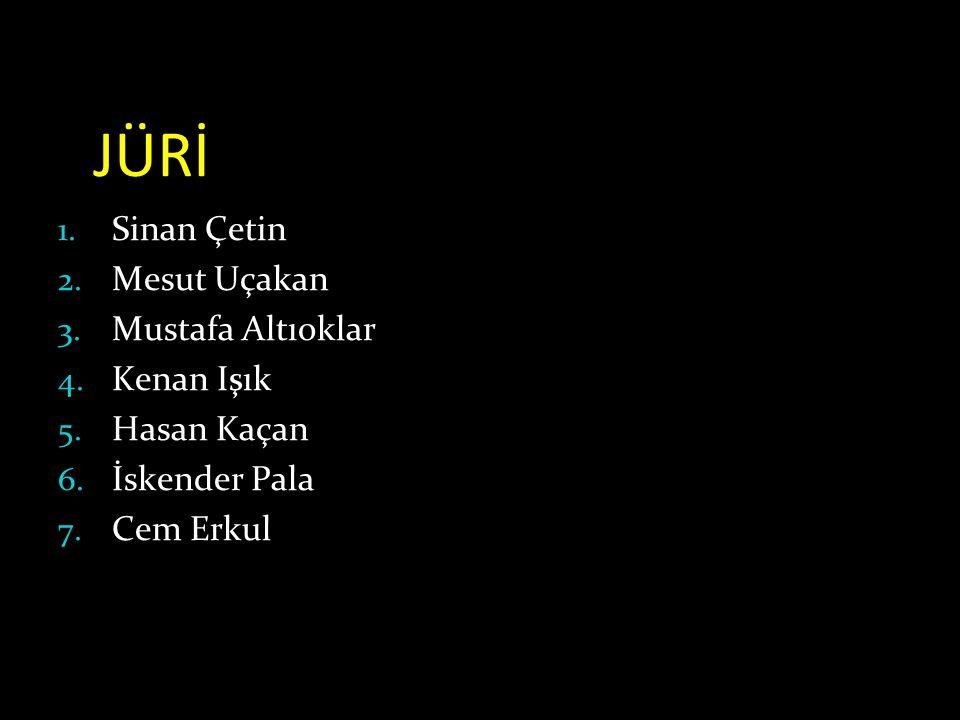 JÜRİ 1.Sinan Çetin 2. Mesut Uçakan 3. Mustafa Altıoklar 4.