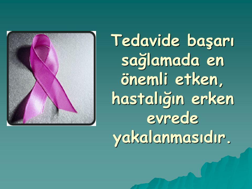 Tedavide başarı sağlamada en önemli etken, hastalığın erken evrede yakalanmasıdır. ....