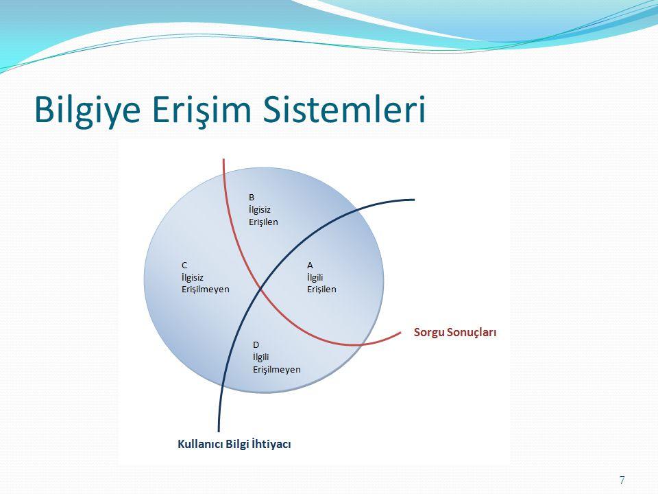 Bilgiye Erişim Sistemleri 7