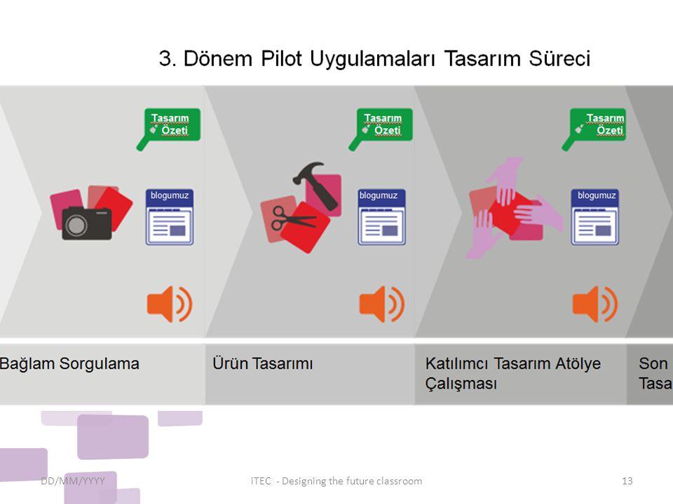 DD/MM/YYYYiTEC - Designing the future classroom13