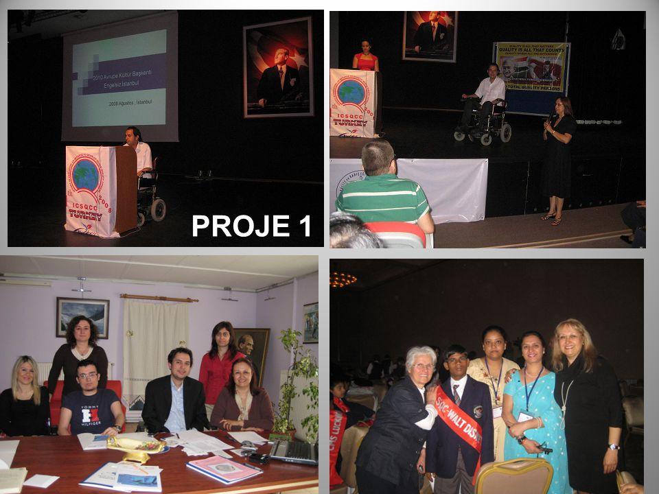 PROJEDE LANDMARKLAR 2008 yılından bu yana fiziksel engeli olan özürlülerle sürdürülen Engelli projeleri, öğretmen adaylarının engellilerin sorunlarıyla tanışma çalışmaları ve 17 Aralık 2008 tarihinde Maritus'da gerçekleştirilen 1.