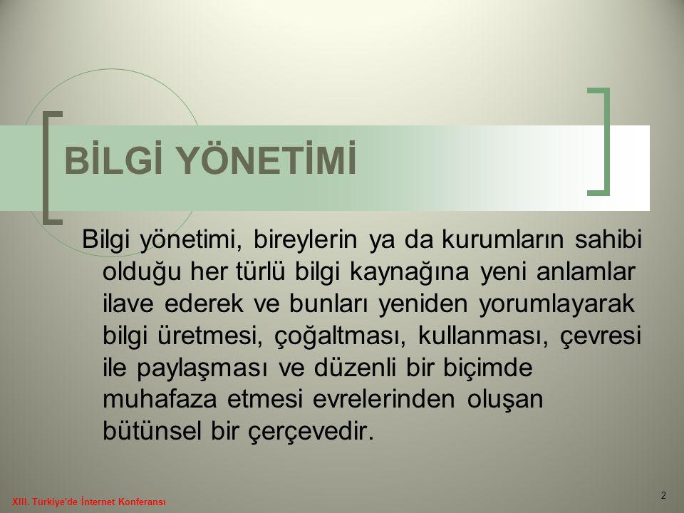 Türkiye'de açık erişim ve açık erişim girişimleri konusunda yaşanan gelişmelerin duyurulduğu ilk toplantı 2003 yılında Ankara Üniversitesi'nde yapılmıştır.