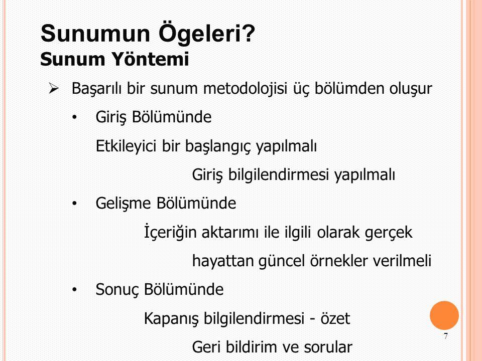 KAYNAKLAR  http://eelbasi.etu.edu.tr/Etkili_Sunum_Teknikleri.pdf http://eelbasi.etu.edu.tr/Etkili_Sunum_Teknikleri.pdf  http://www.ctf.edu.tr/farma/tfd/tfd2005_094_guney.pdf http://www.ctf.edu.tr/farma/tfd/tfd2005_094_guney.pdf  http://www.daltinkurt.com/upload/dosyalar/file/e-book/sunu/teknik.pdf http://www.daltinkurt.com/upload/dosyalar/file/e-book/sunu/teknik.pdf  http://www.uzmantv.com/konu/etkili-sunum-teknikleri http://www.uzmantv.com/konu/etkili-sunum-teknikleri  http://sgb.aile.gov.tr/tr/html/191/Kurumsal+Kimlik+Kilavuzu/ http://sgb.aile.gov.tr/tr/html/191/Kurumsal+Kimlik+Kilavuzu/  Yrd.