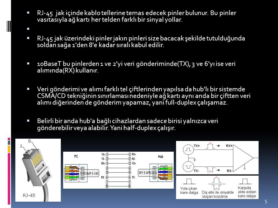 Yönlendirici (Router) ► Bir köprü sadece paketlerin kaynağını ve gittiği yerin adresini kontrol ederken bir yönlendirici cok daha fazlasını yapar.