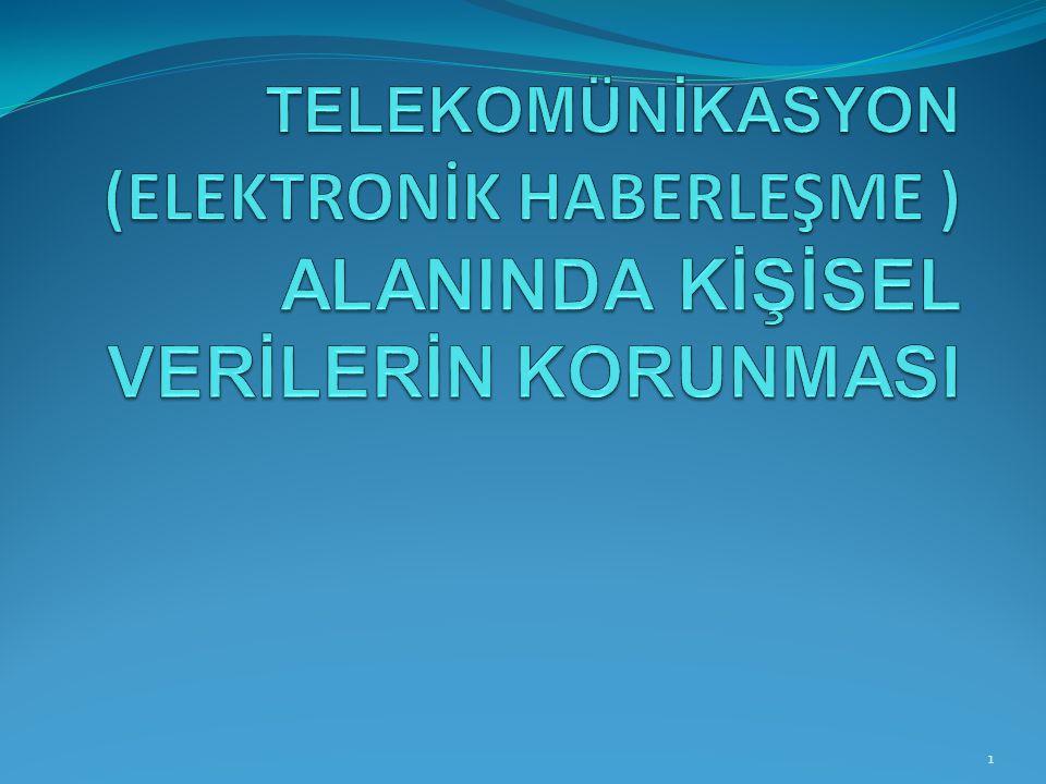 Elektronik haberleşme alanında, trafik verilerini işlemekle yetkili kişiler açısından; Yönetmelik m.